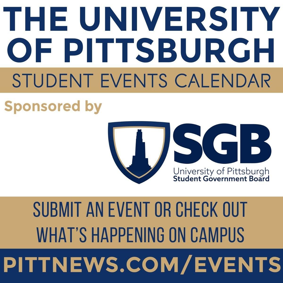 """The Pitt News On Twitter: """"fill Up Your Weekend Calendar With Events U Pitt Calendar 2019"""
