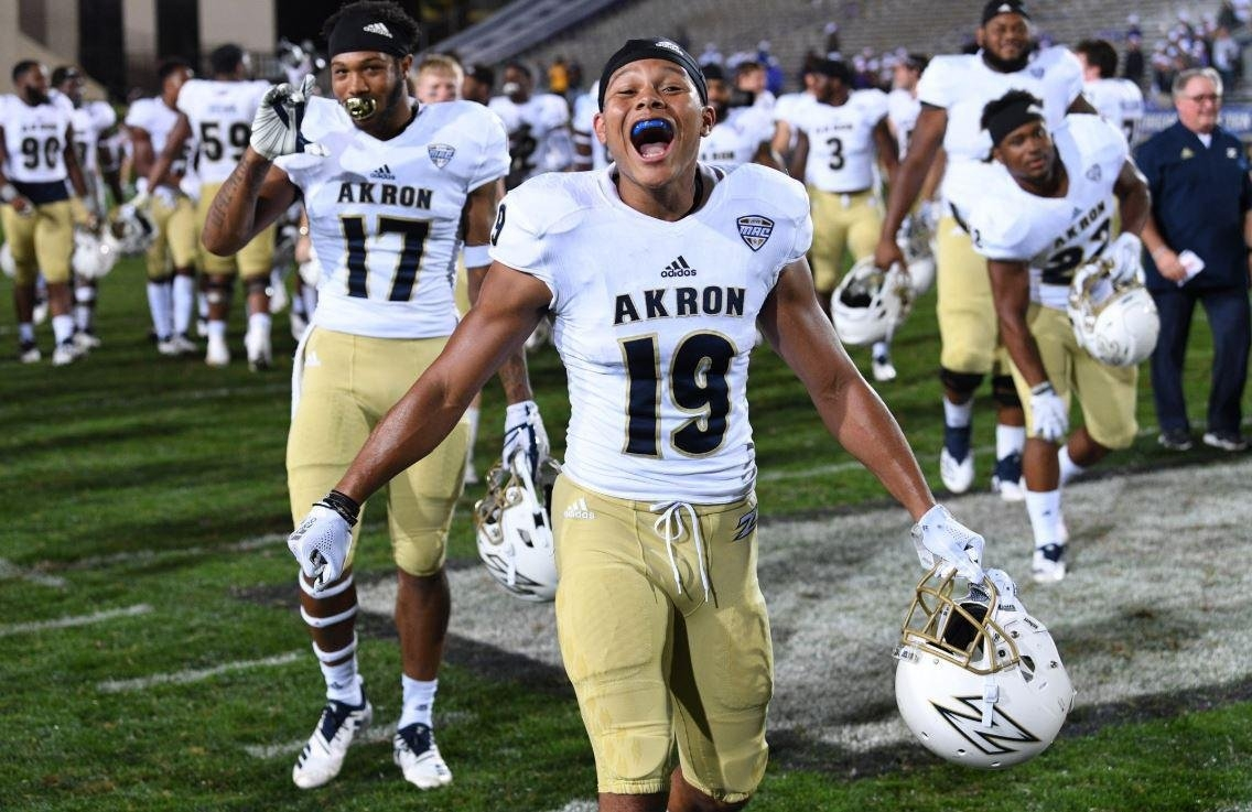 The View From Pluto: Akron Football Channels 'buchtel College' In A Akron U Calendar 2019