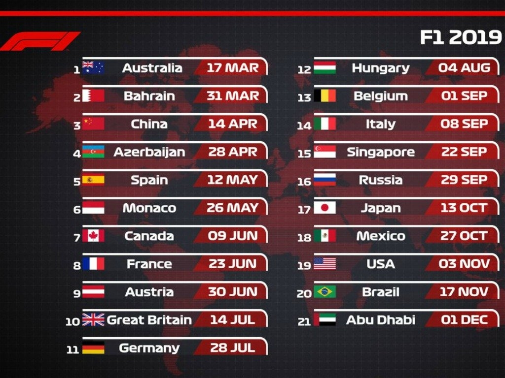 Two Years Of Liberty Media: What Is The Verdict? | Planetf1 Formula 1 Calendar 2019