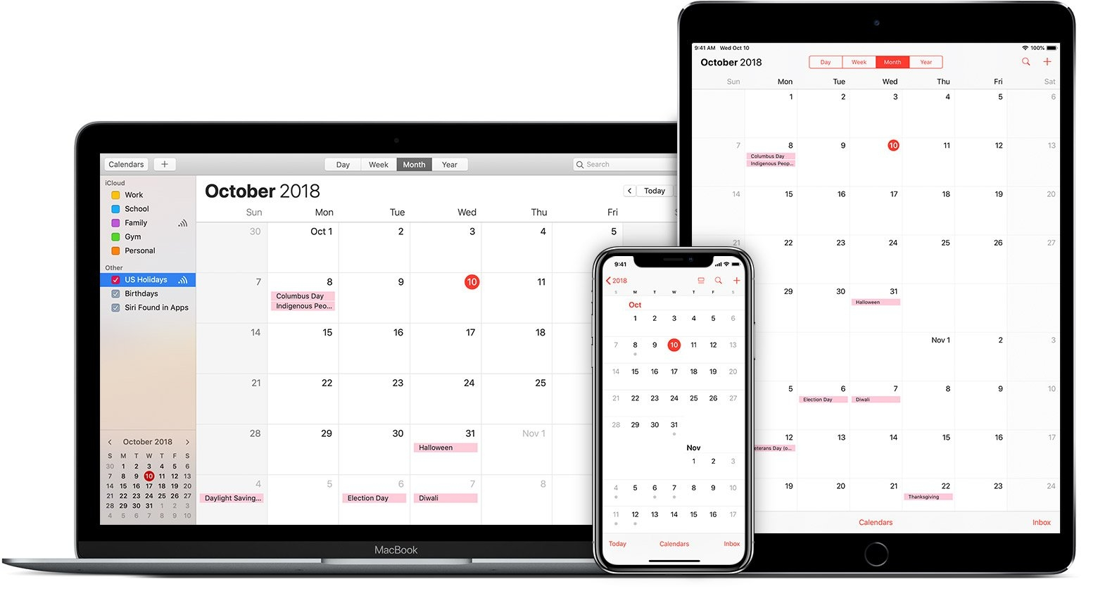 Use Icloud Calendar Subscriptions - Apple Support Calendar 2019 On My Iphone