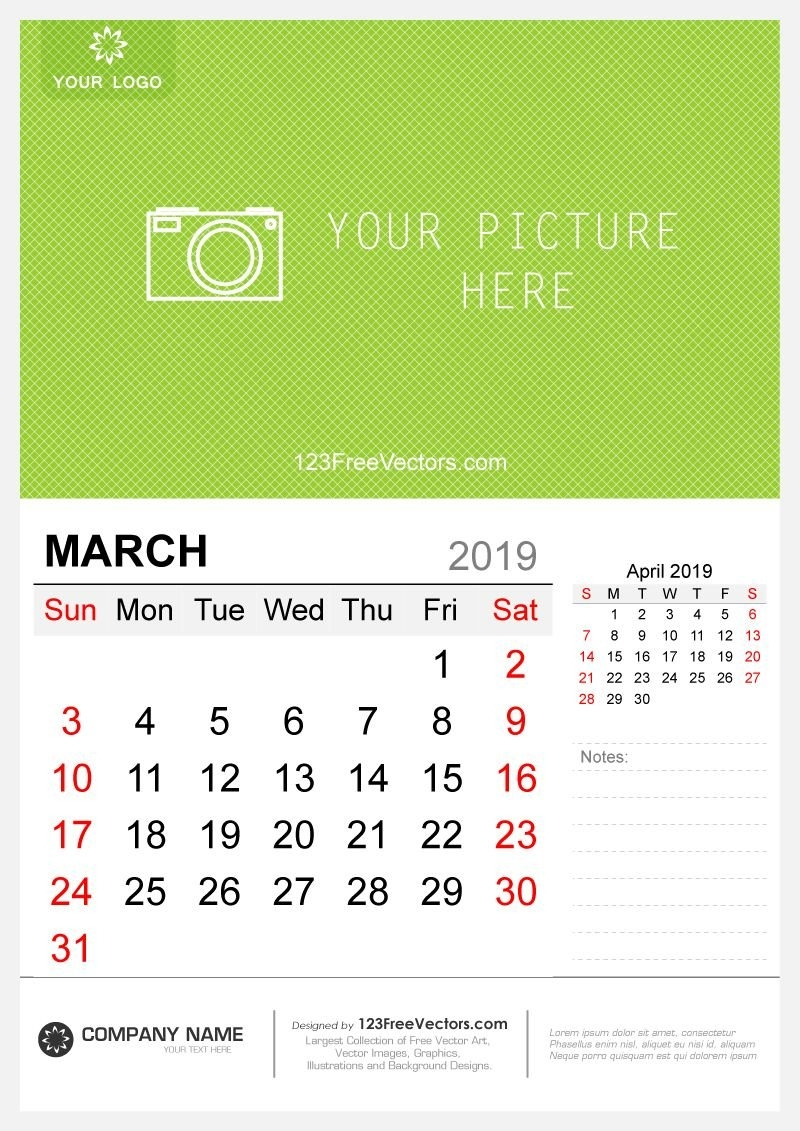 Wall Calendar March 2019 | 2019 Calendar | Pinterest | Calendar March 9 2019 Calendar