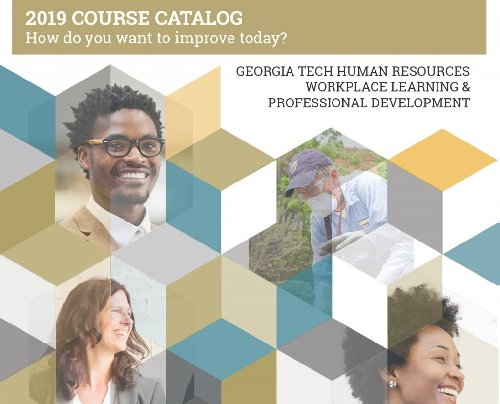 Workplace Learning & Professional Development | Human Resources Calendar 2019 Gatech
