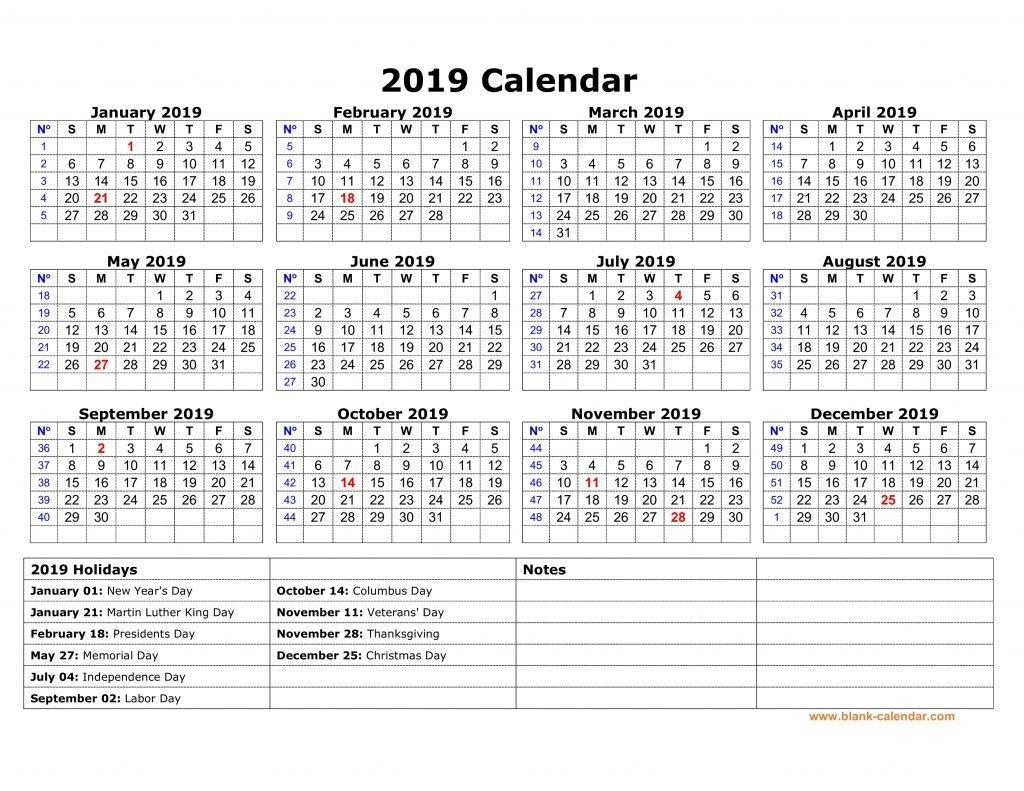 Yearly Usa Holidays Calendar 2019 Printable - Free March 2019 Calendar 2019 With Holidays Usa