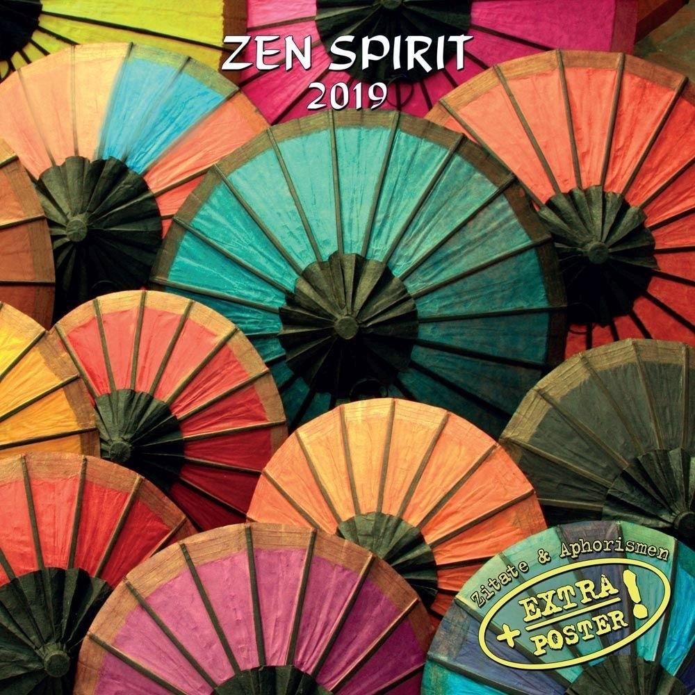 Zen Spirit 2019 Wall Calendar-Calendars-Books & Gifts 2019 Calendar Zen