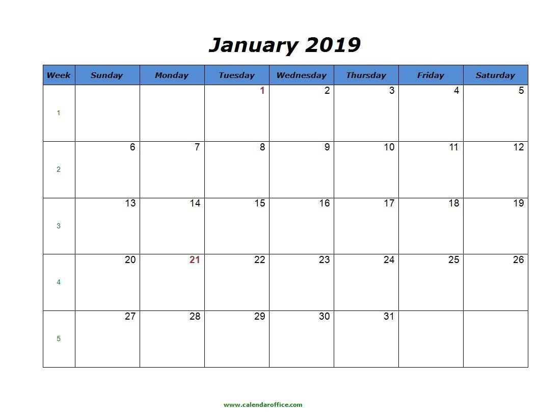 008 Calendar Printable Word Jaunary Phenomenal 2019 Template Calendar 2019 In Word