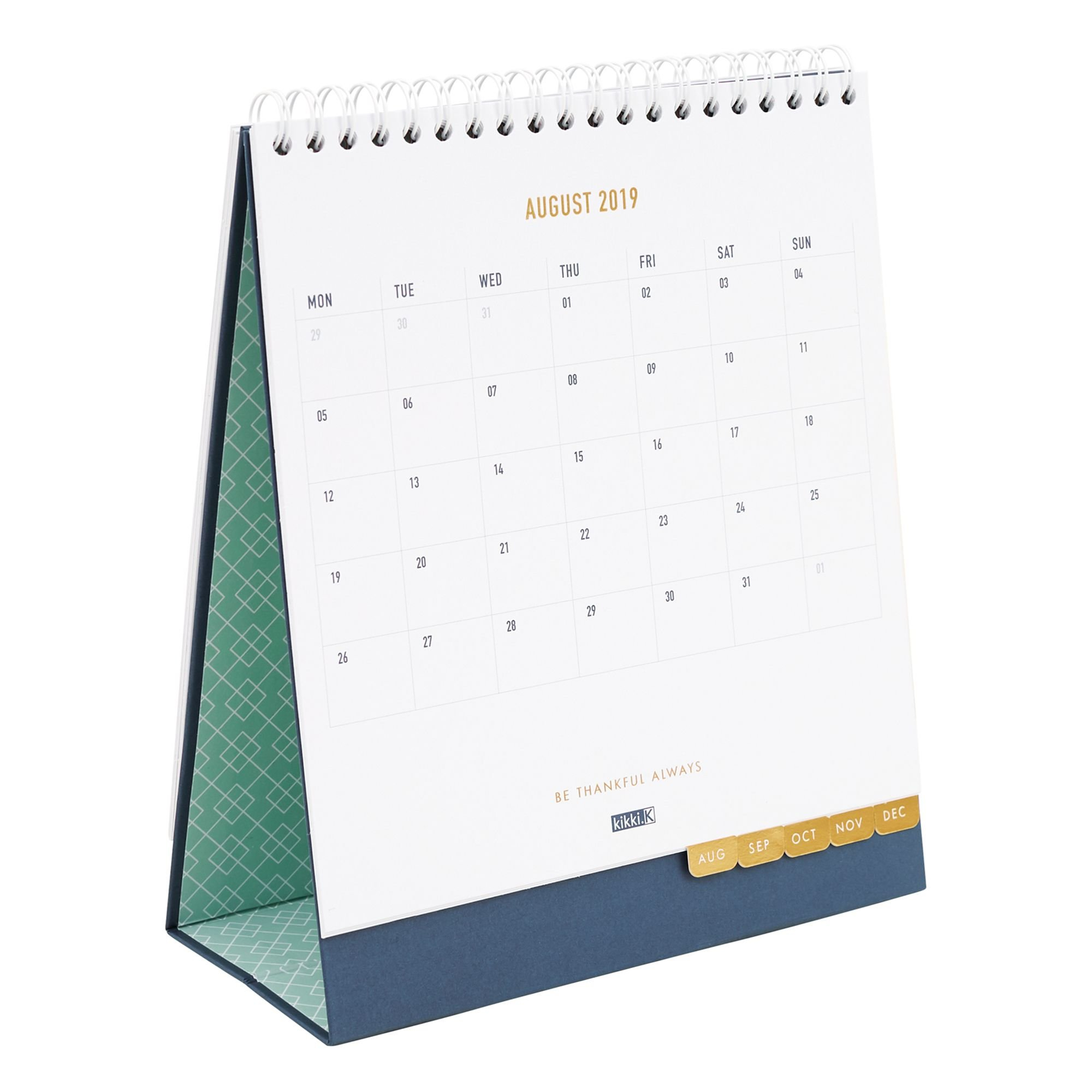 2019 Desk Calendar Ms: Inspiration | Organization | Desk Calendars Kikki K Desk Calendar 2019