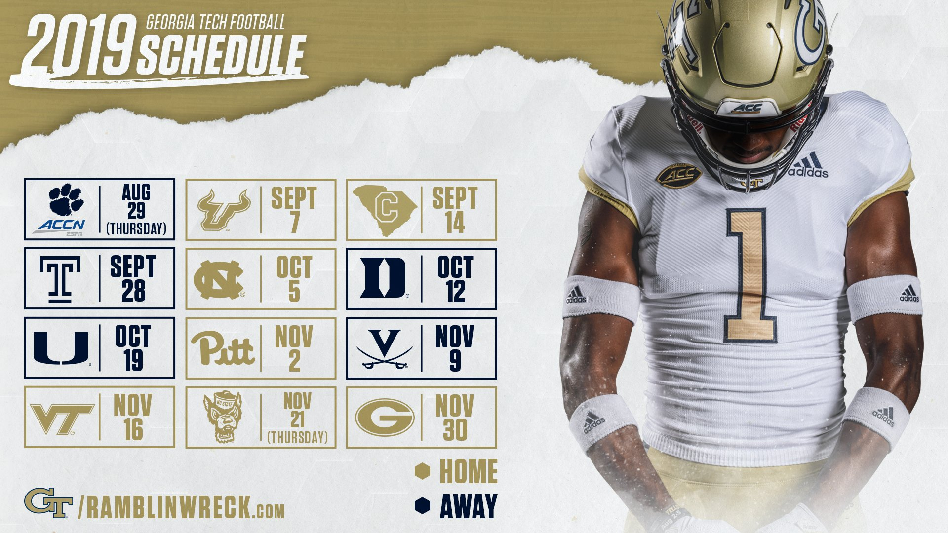 2019 Football Schedule, Ticket Prices Finalized – Football — Georgia Uga Academic Calendar 2019-20