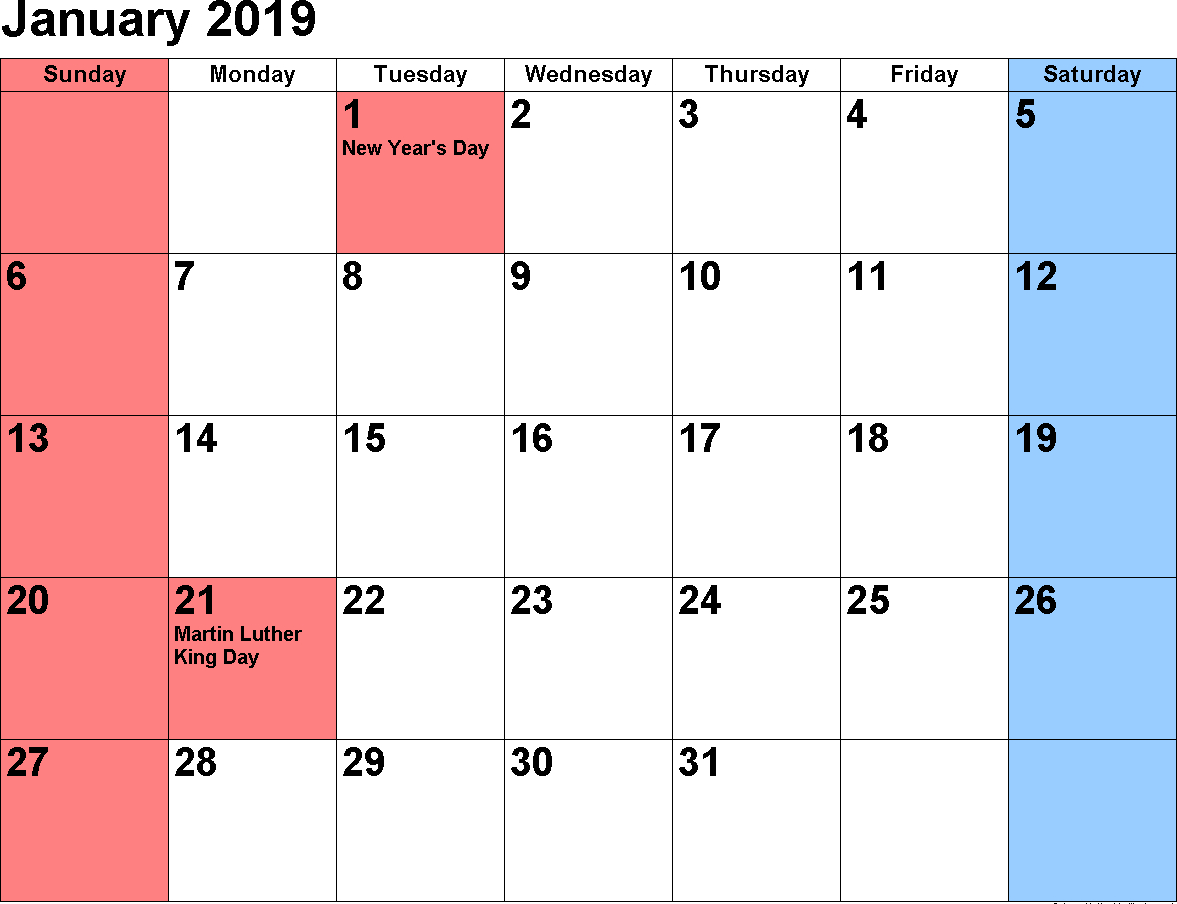 2019 January Calendar | 250+ January 2019 Calendar | May 2018 Calendar 0F 2019