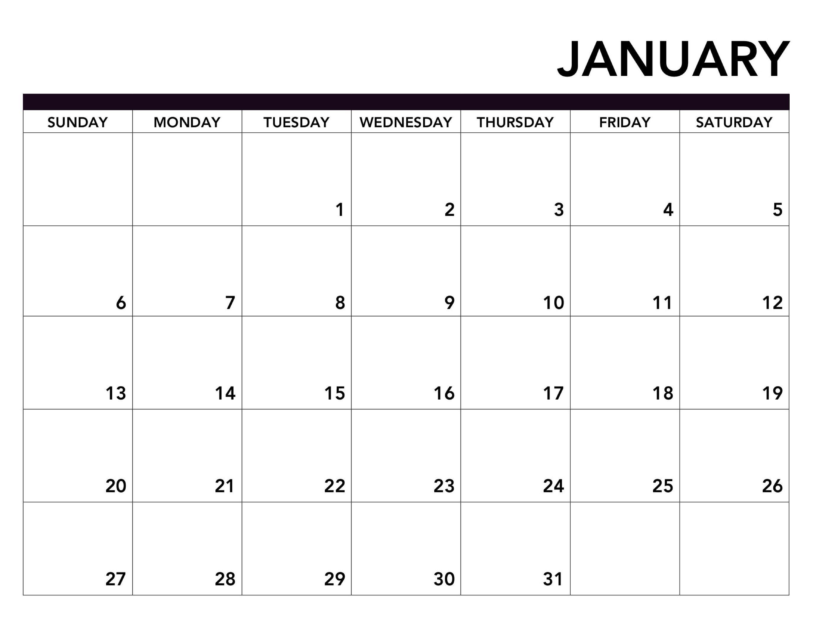 2019 Printable Calendar Free Pages - Paper Trail Design Calendar 2019 Pages
