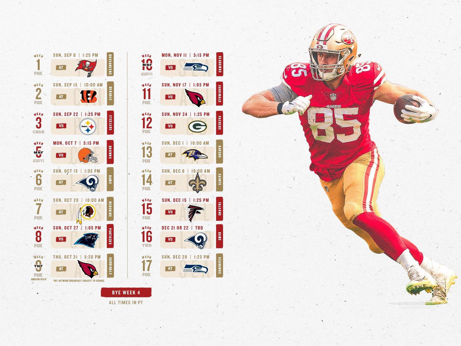 49Ers Fans | San Francisco 49Ers – 49Ers 49Ers Calendar 2019