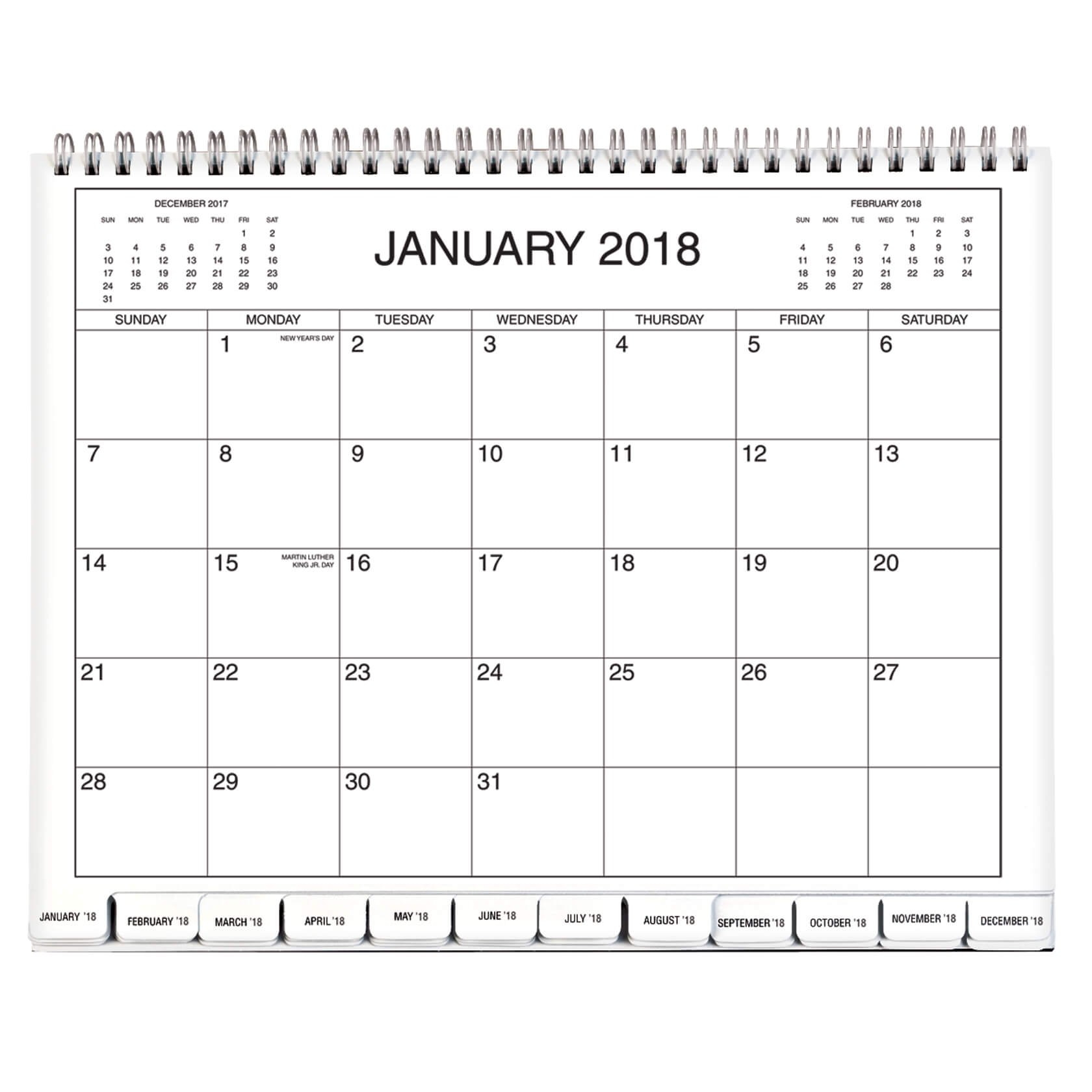 5 Year Calendar 2018-2019-2020-2021-2022 - Monthly Calendar - Walter Calendar 2019 Write In