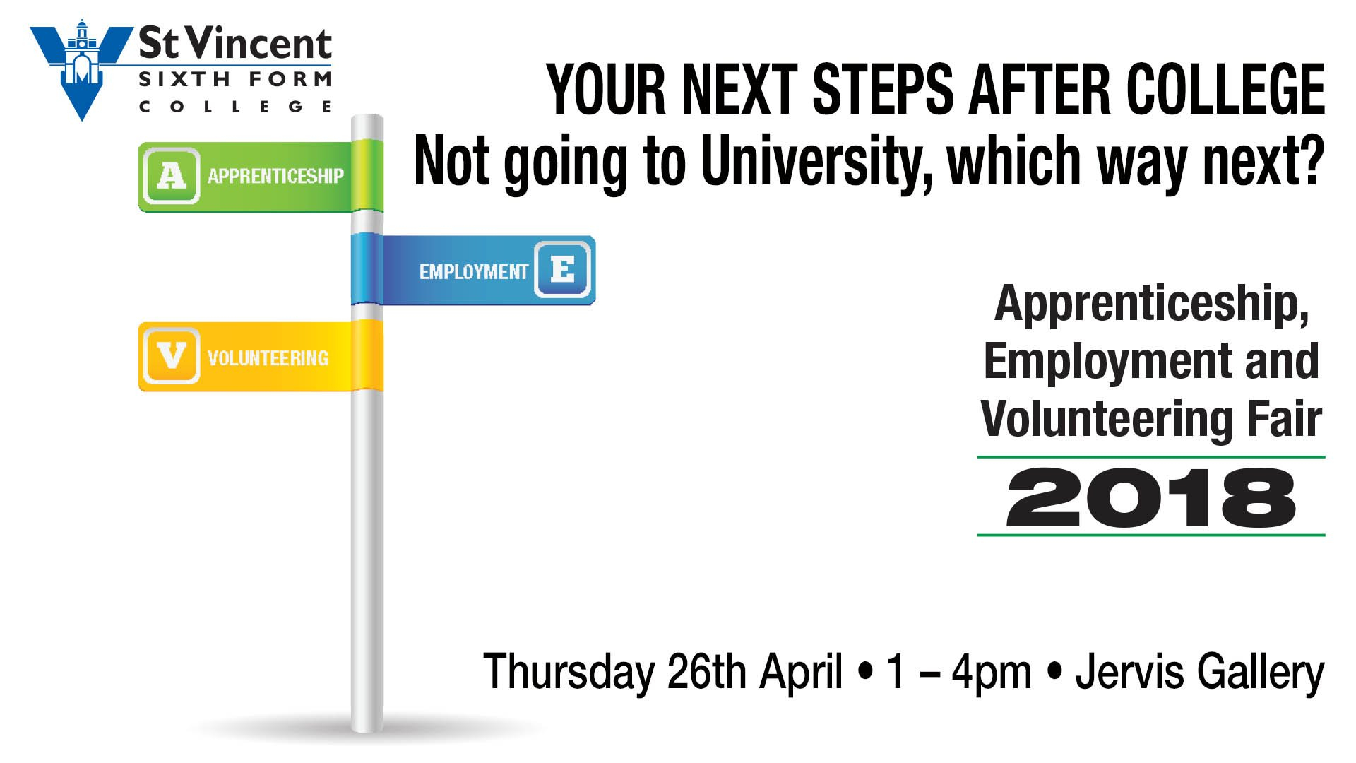 Apprenticeship, Employment And Volunteering Fair E&d Calendar 2019