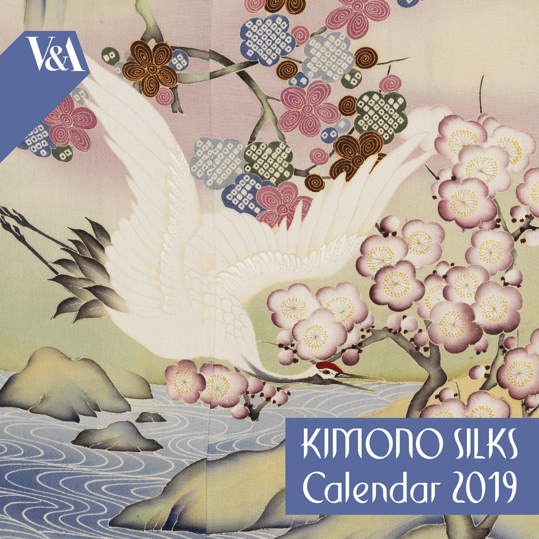 Buy V&a Kimono Silks - Mini Wall Calendar 2019 (Art Calendar) V&a Calendar 2019