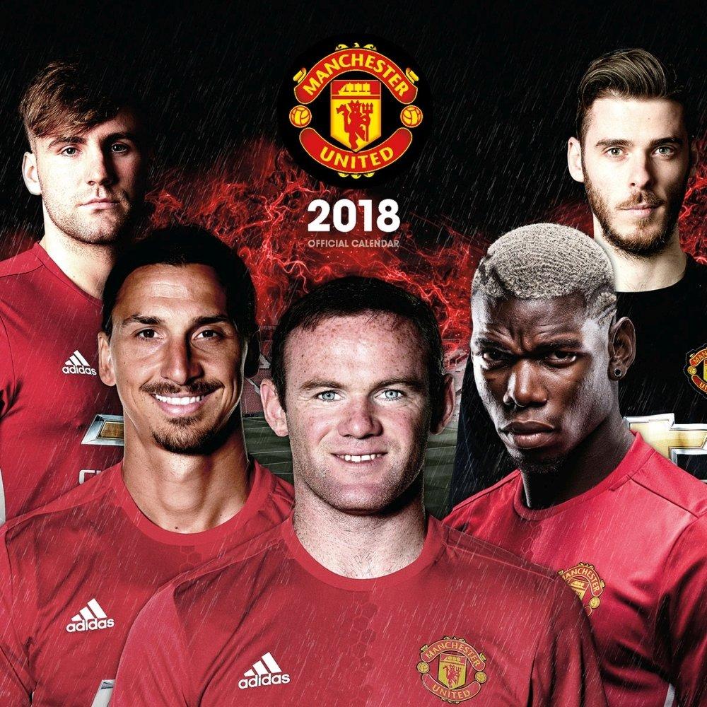 Calendarsdotcom: 2019 Manchester United Fc Soccer Wall Calendar, Man U Calendar 2019