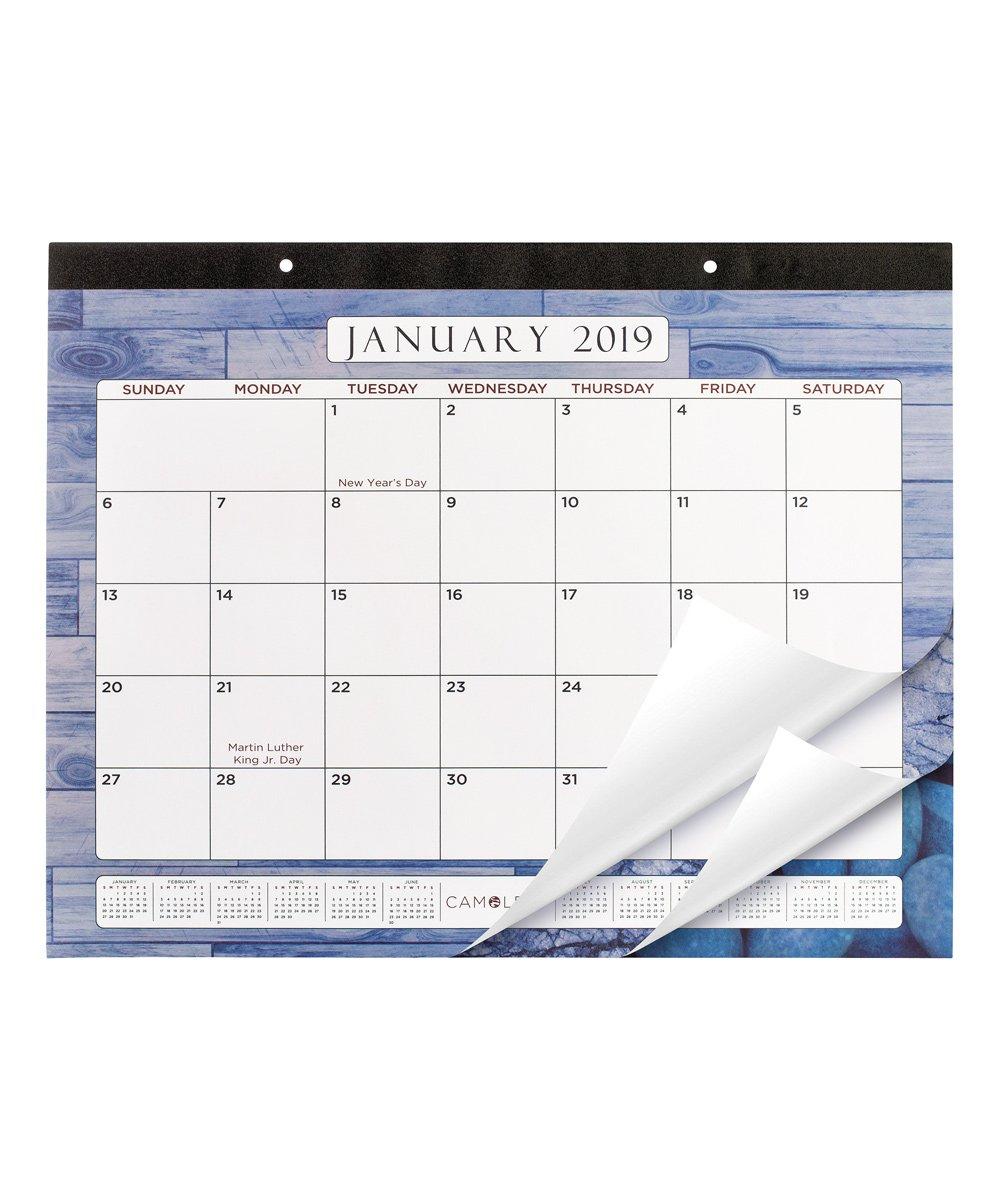 Camoleaf Blue 2019 Calendar Calendar 2019 Zu
