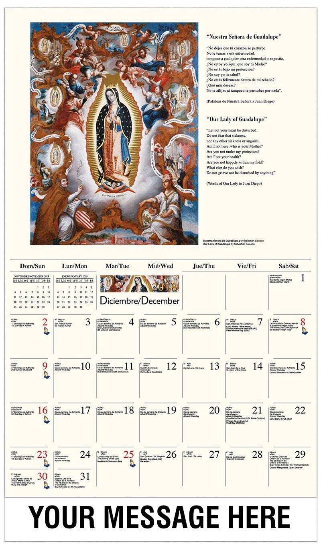 Catholic Inspirations - 2019 Promotional Calendar (Spanish-English Calendar 2019 Catholic