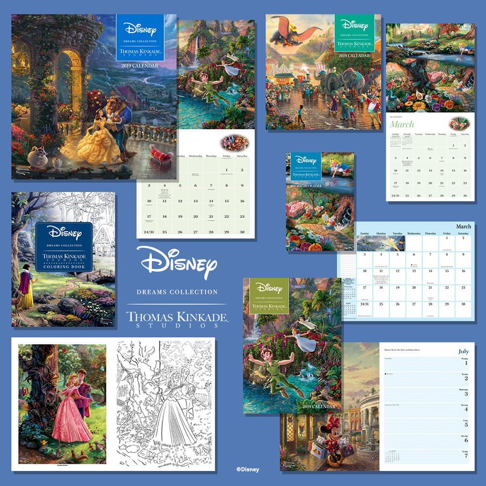 Contest Time! Win A Set Of Four 2019 Calendars! | Thomas Kinkade Studios Calendar 2019 Thomas Kinkade