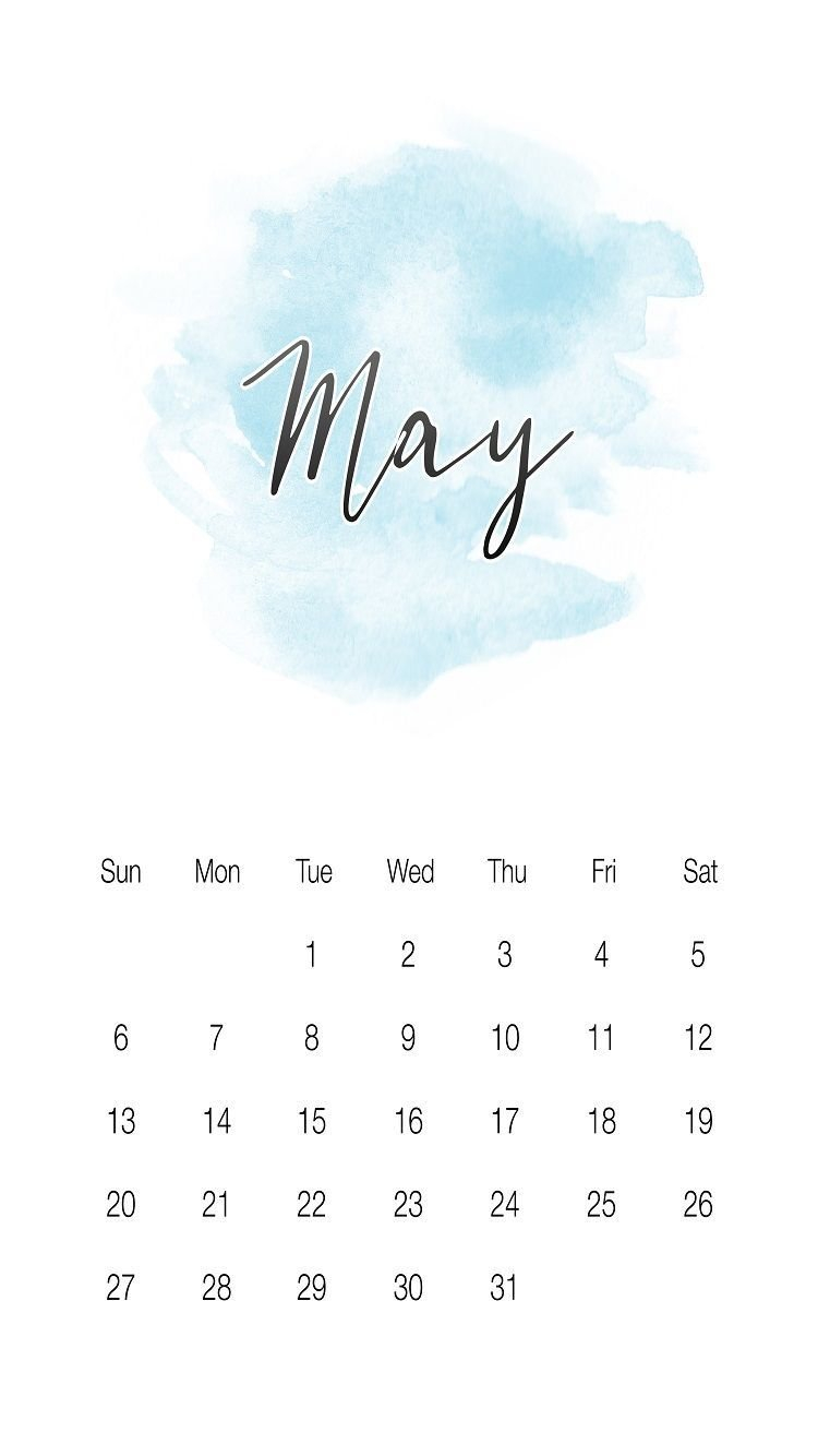 Cool May 2018 Iphone Calendar Wallpapers Images And Photos. | May Calendar 2019 Cool