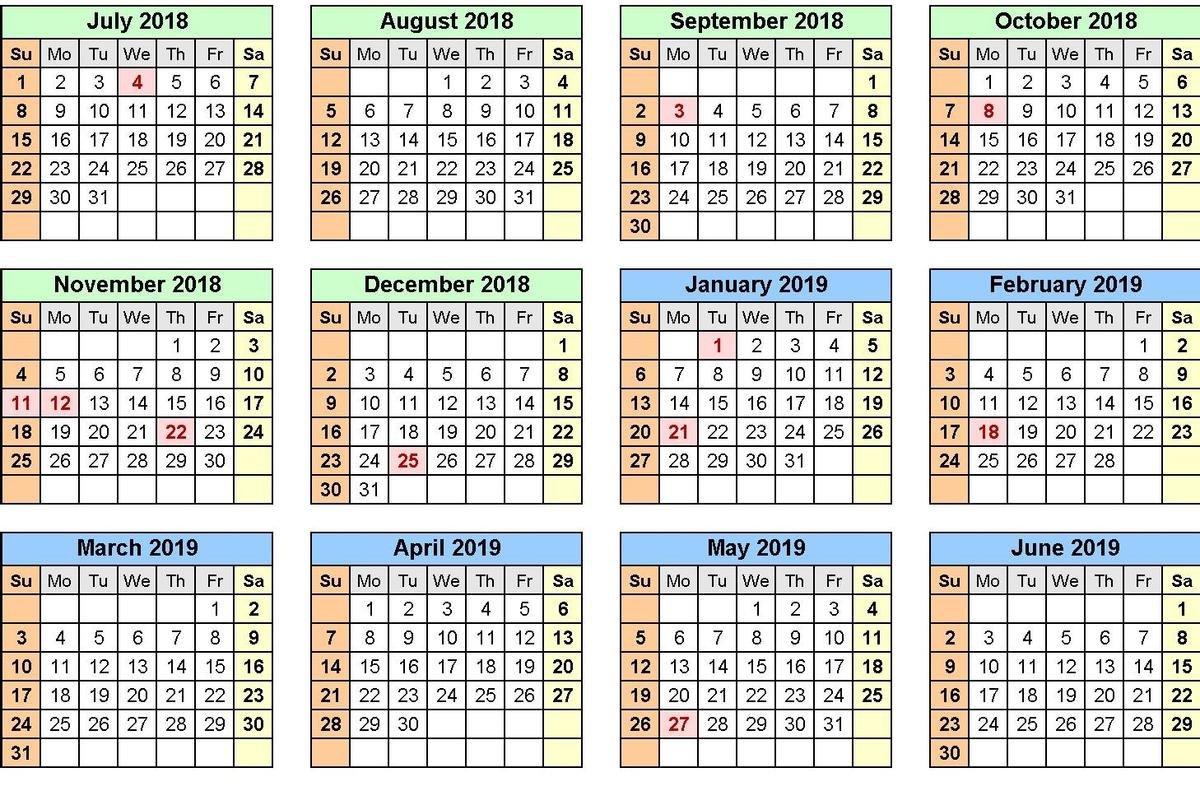 Damien High School S A School Calendar 2019