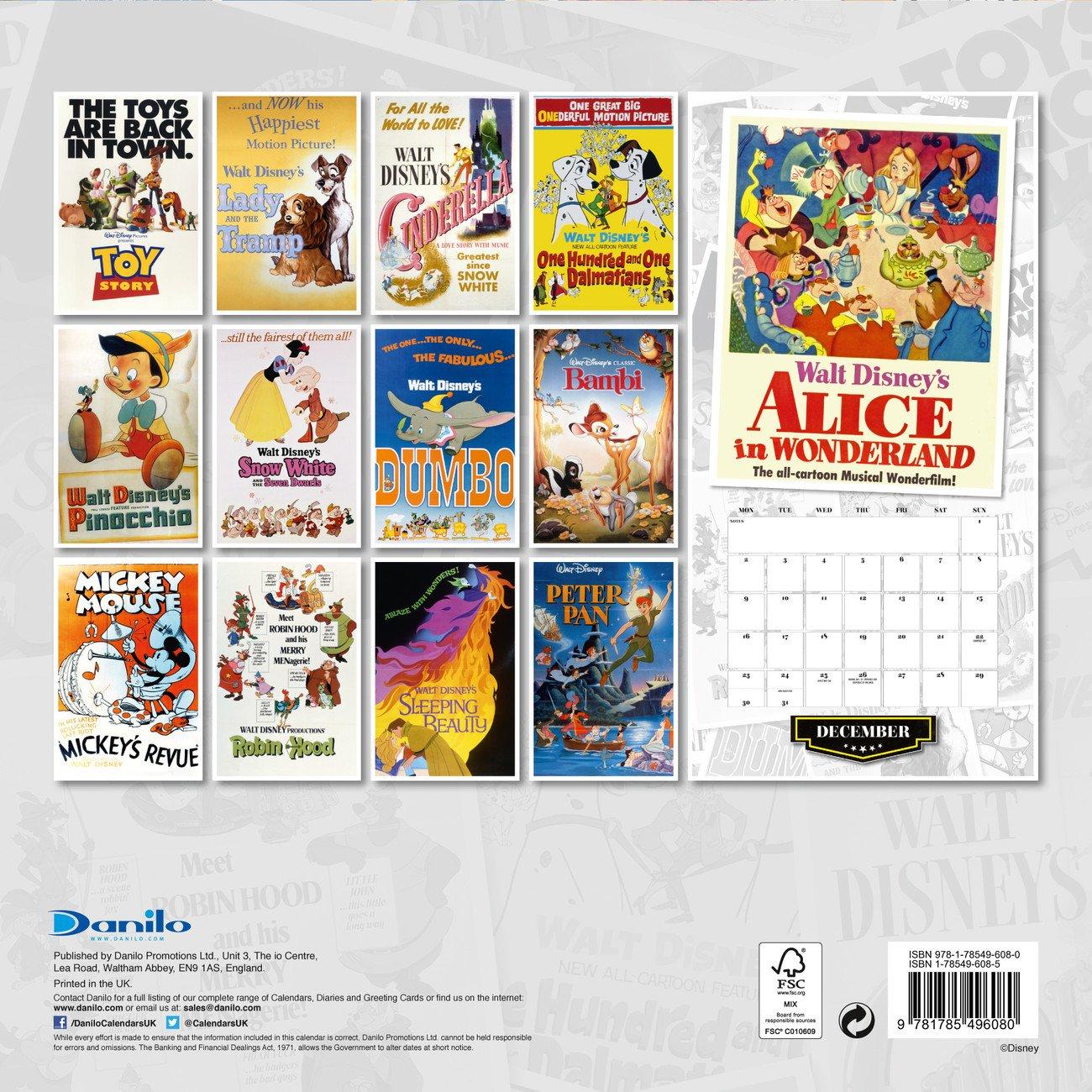 Disney Calendar 2019 | Europosters.ro Calendar 2019 Disney