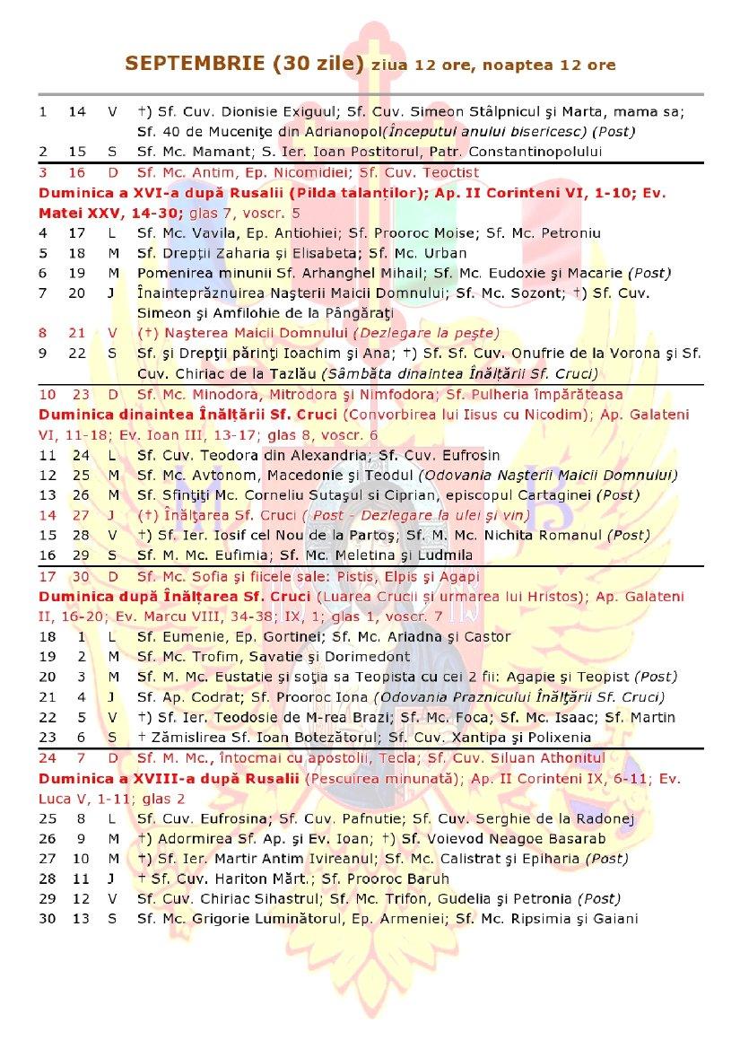 ✨ Calendar Ortodox Luna Iunie 2019 | Calendar Ortodox 2019, Iulie Calendar 2019 Ortodox