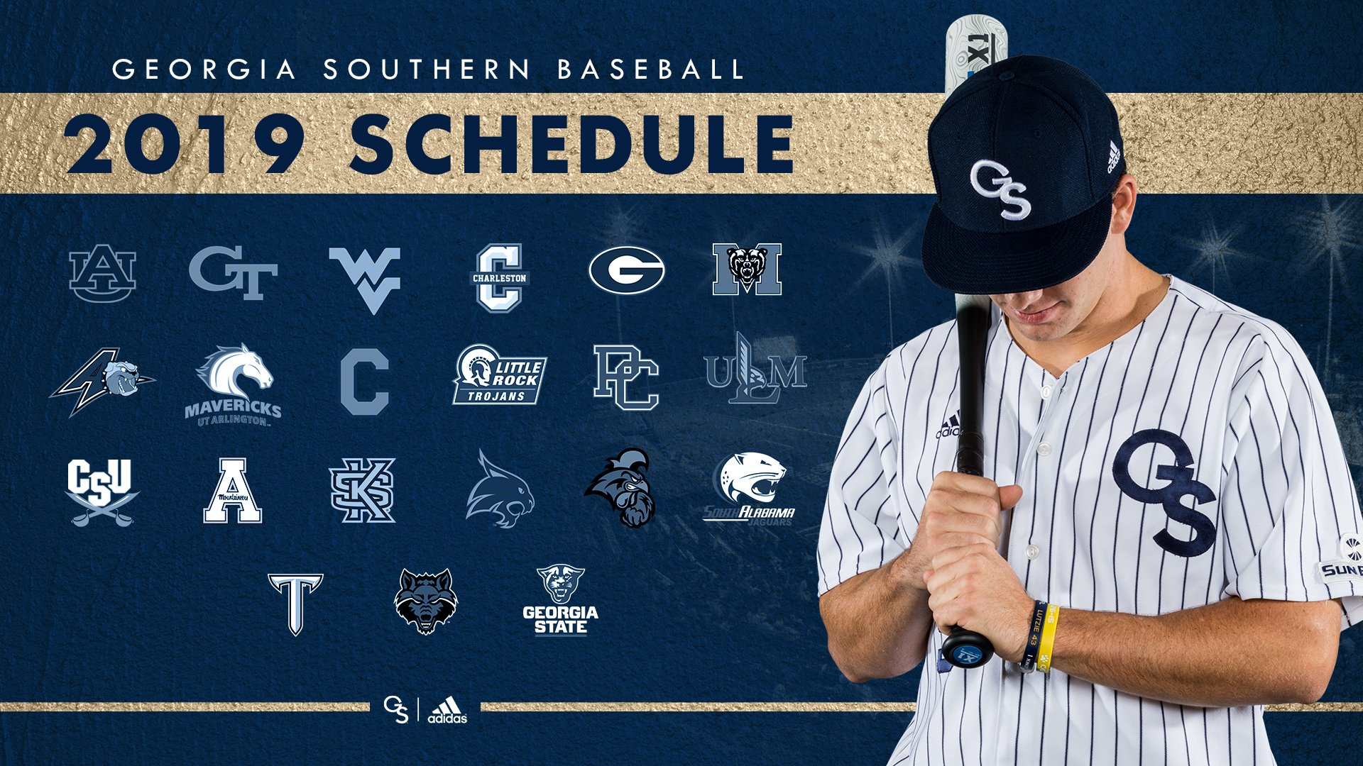 Eagle Baseball Announces 2019 Schedule - Georgia Southern Calendar 2019 Gsu