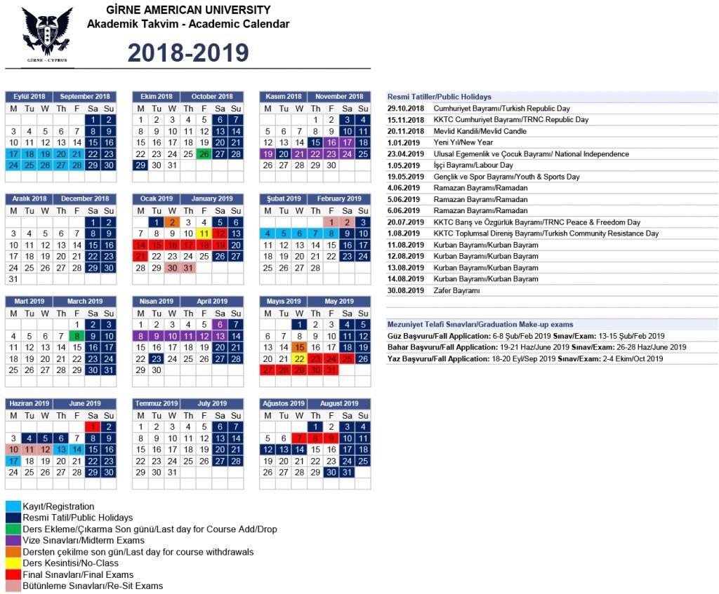 Elegant 45 Design Gsu Calendar 2019 | Xunhuagd Calendar 2019 Gsu