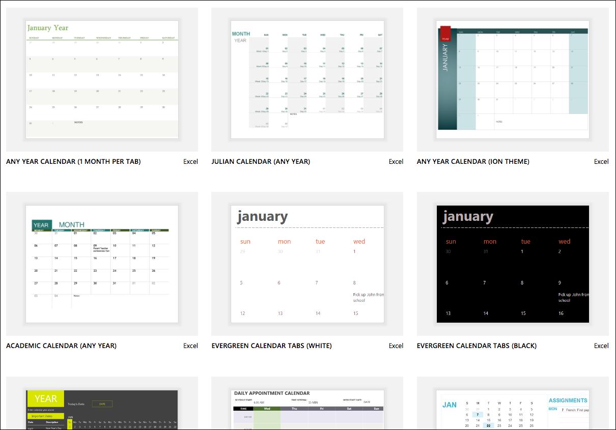 Excel Calendar Templates - Excel Calendar 2019 Excel Australia