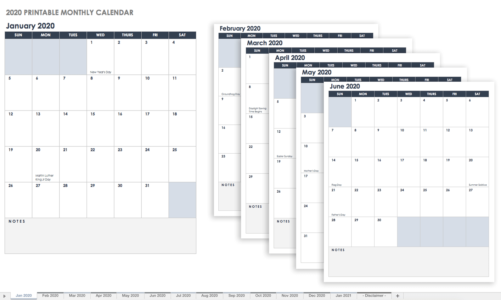 Fill In Schedule Template Free Blank Calendar Templates Smartsheet Calendar 2019 Fill In