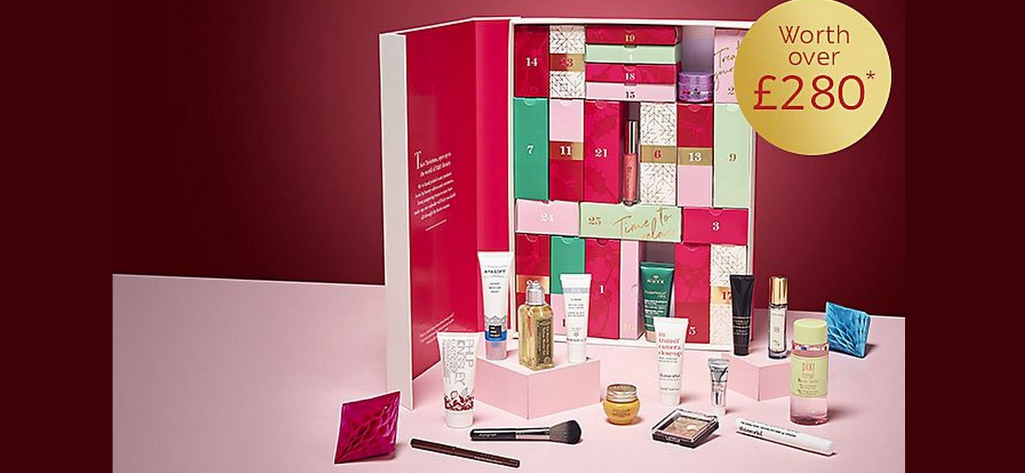 Get The £280 M&s Beauty Advent Calendar For Only £35 M&s Advent Calendar 2019