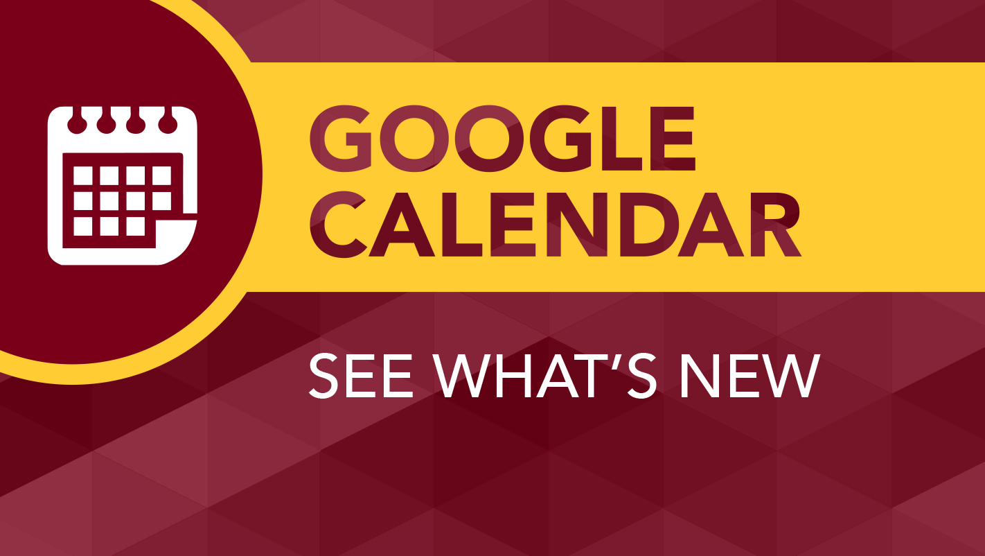 Google Calendar To Get Updated | It@umn Calendar 2019 Umn