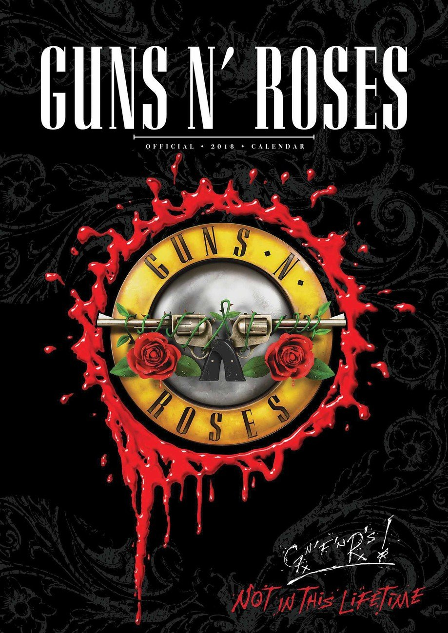 Guns N' Roses Календарі 2020 На Europosters Guns N Roses Calendar 2019