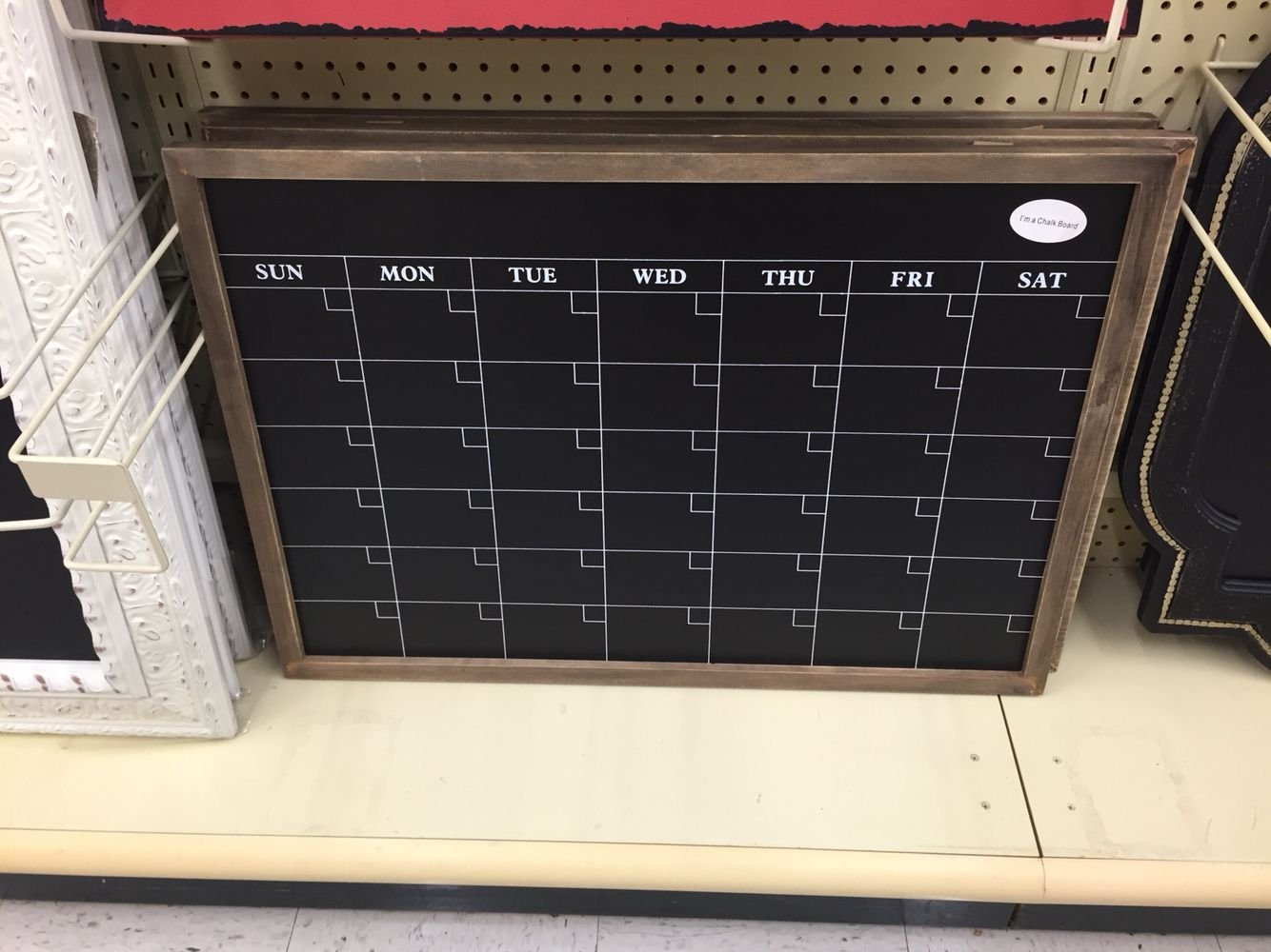 Hobby Lobby-Calendar Chalkboard! Make Sure To Use The 40% Off Coupon Calendar 2019 Hobby Lobby