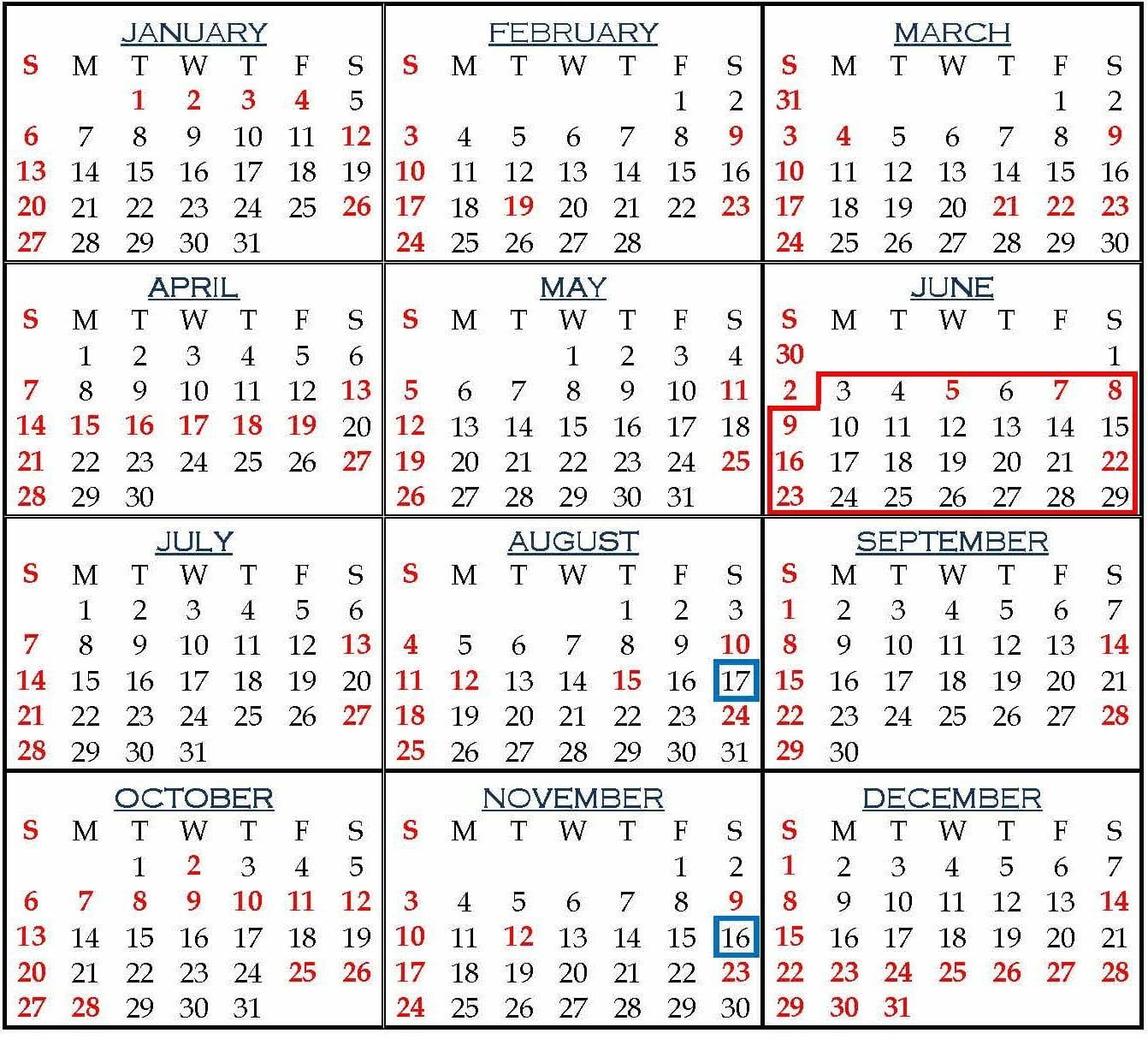 Holiday List For Employees Of Punjab And Haryana High Court, 2019 U Of L Calendar 2019