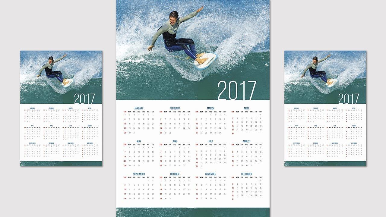 How To Create Or Design A Calendar In Indesign Cc - 2019 - Youtube Calendar 2019 Indesign