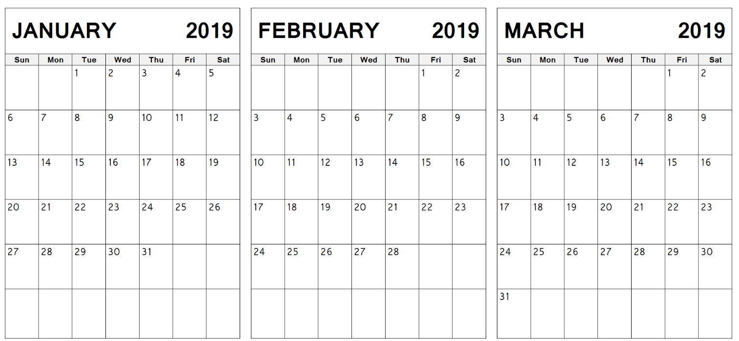 Index Of /wp-Content/uploads/2019/01 Calendar 2019 Jan Feb March