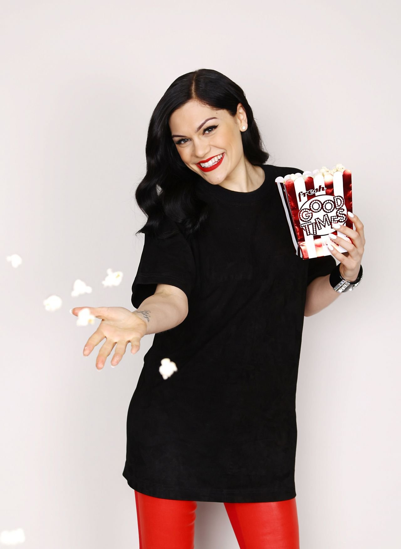 Jessie J - Portraits Photoshoot During Flz's Jingle Ball 2014 In Jessie J Calendar 2019
