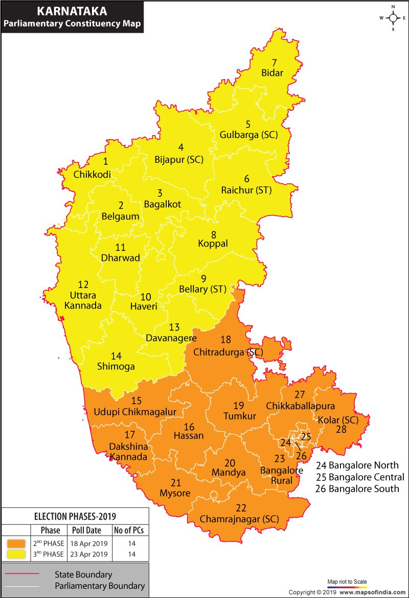 Karnataka General Elections 2019, Latest News & Live Updates Bangalore Press E Calendar 2019
