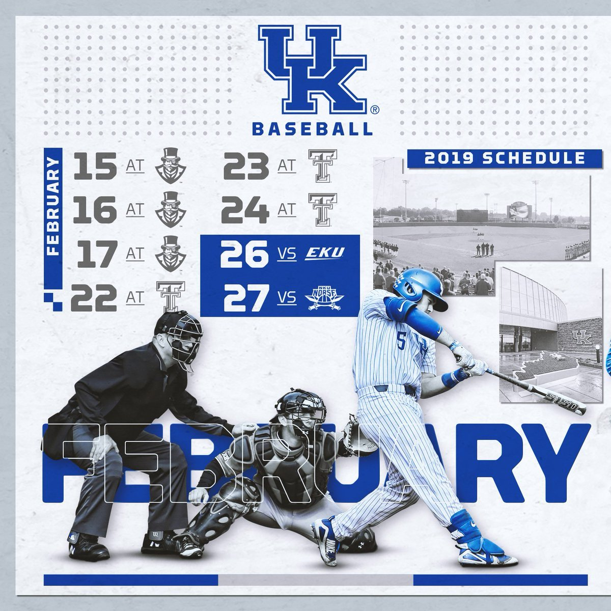 "Kentucky Baseball On Twitter: ""mark Your Calendar #bbn, The 2019 Bb&n Calendar 2019"