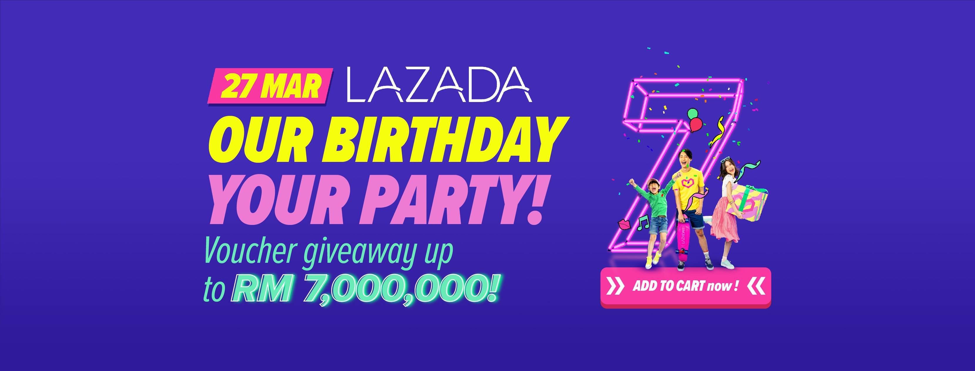 Lazada Anniversary Sale 2019 - Coupon Malaysia, Malaysia Sales Calendar 2019 Lazada