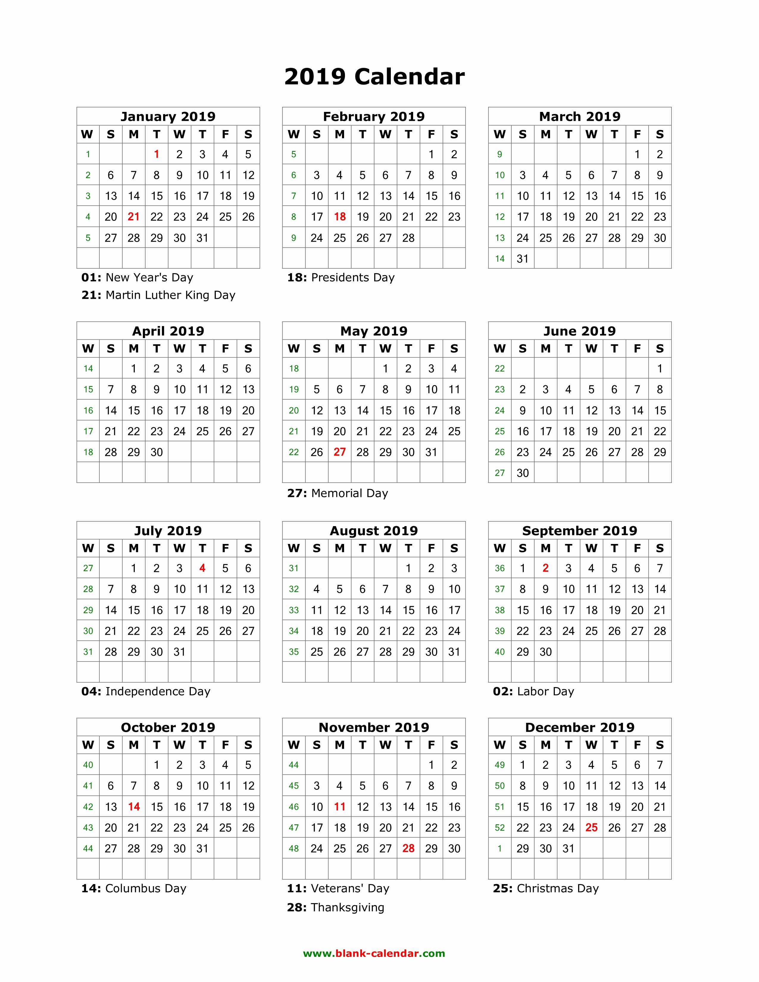 Lovely 31 Design Time And Date Printable Calendar 2019 - Blank Calendar 2019 Time And Date