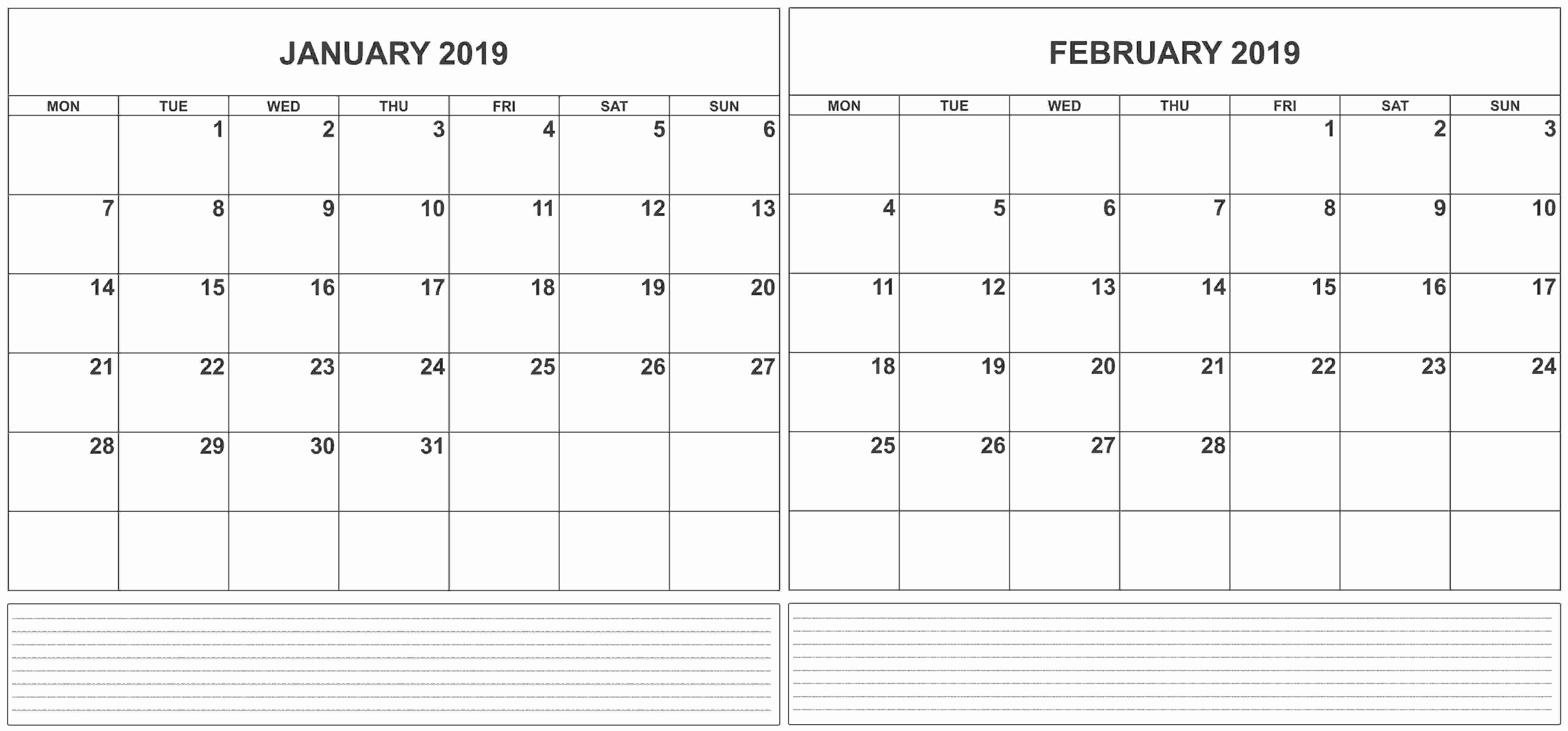 Luxury 31 Illustration Calendar 2019 January February | Micheleboy Calendar 2019 January And February
