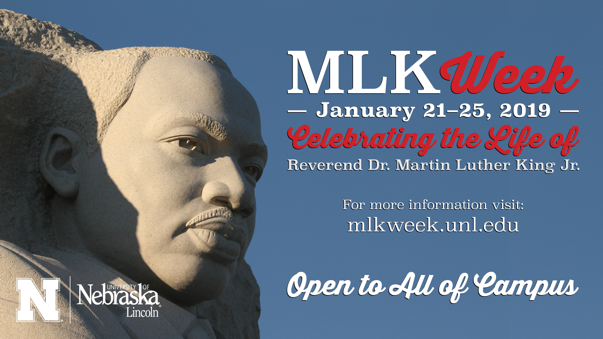Martin Luther King Jr. Week | Nebraska Calendar 2019 Martin Luther King