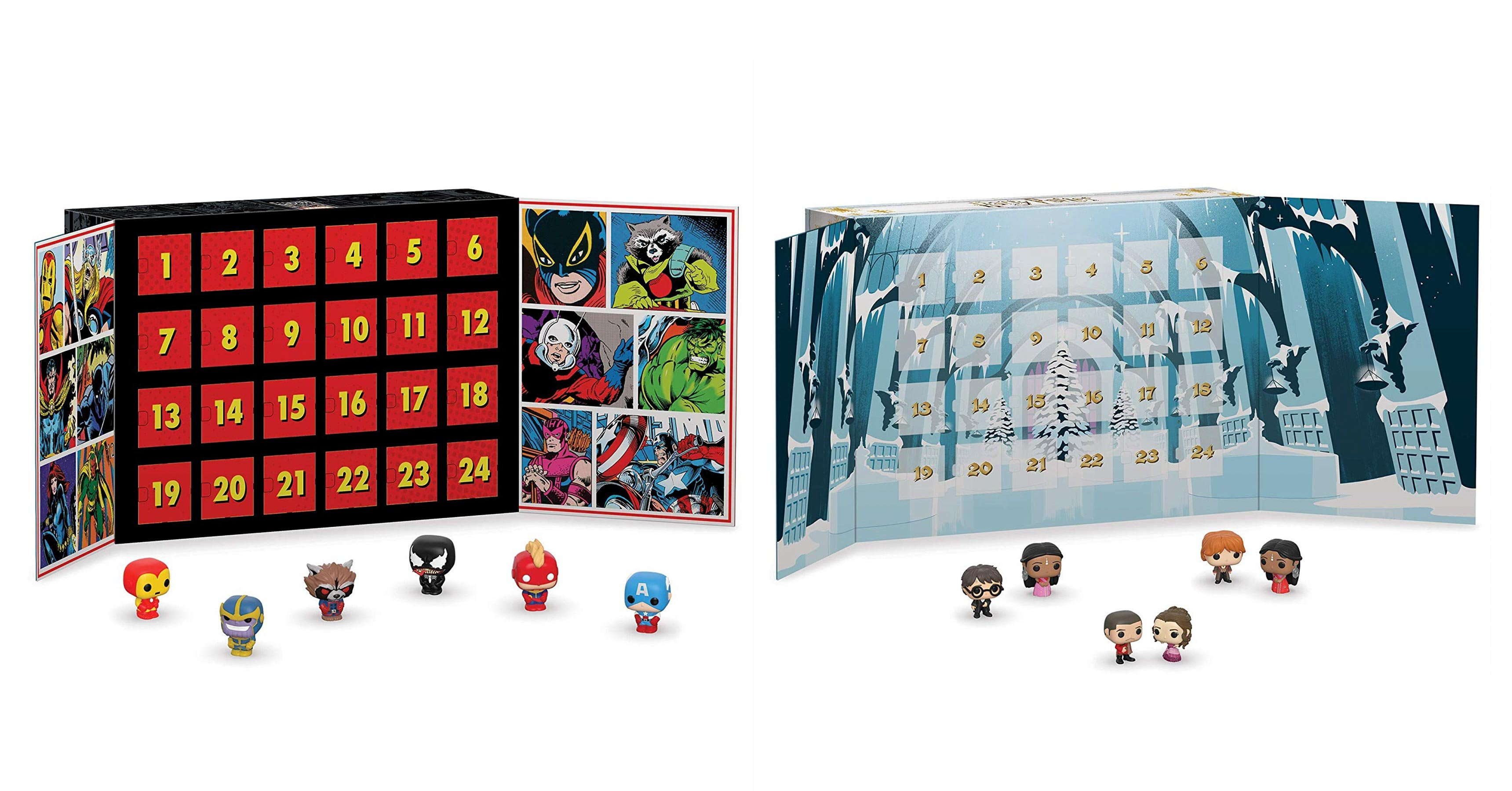 Marvel And Harry Potter Funko Advent Calendars Are Best-Sellers On Calendar 2019 Amazon