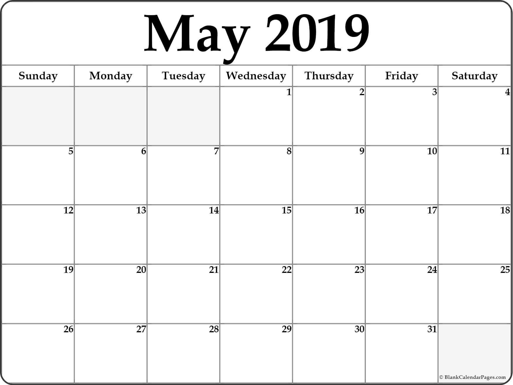 May 2019 Weekly Calendar Printable - Make A Week Wise Schedule For Weekly Calendar 2019 Xls