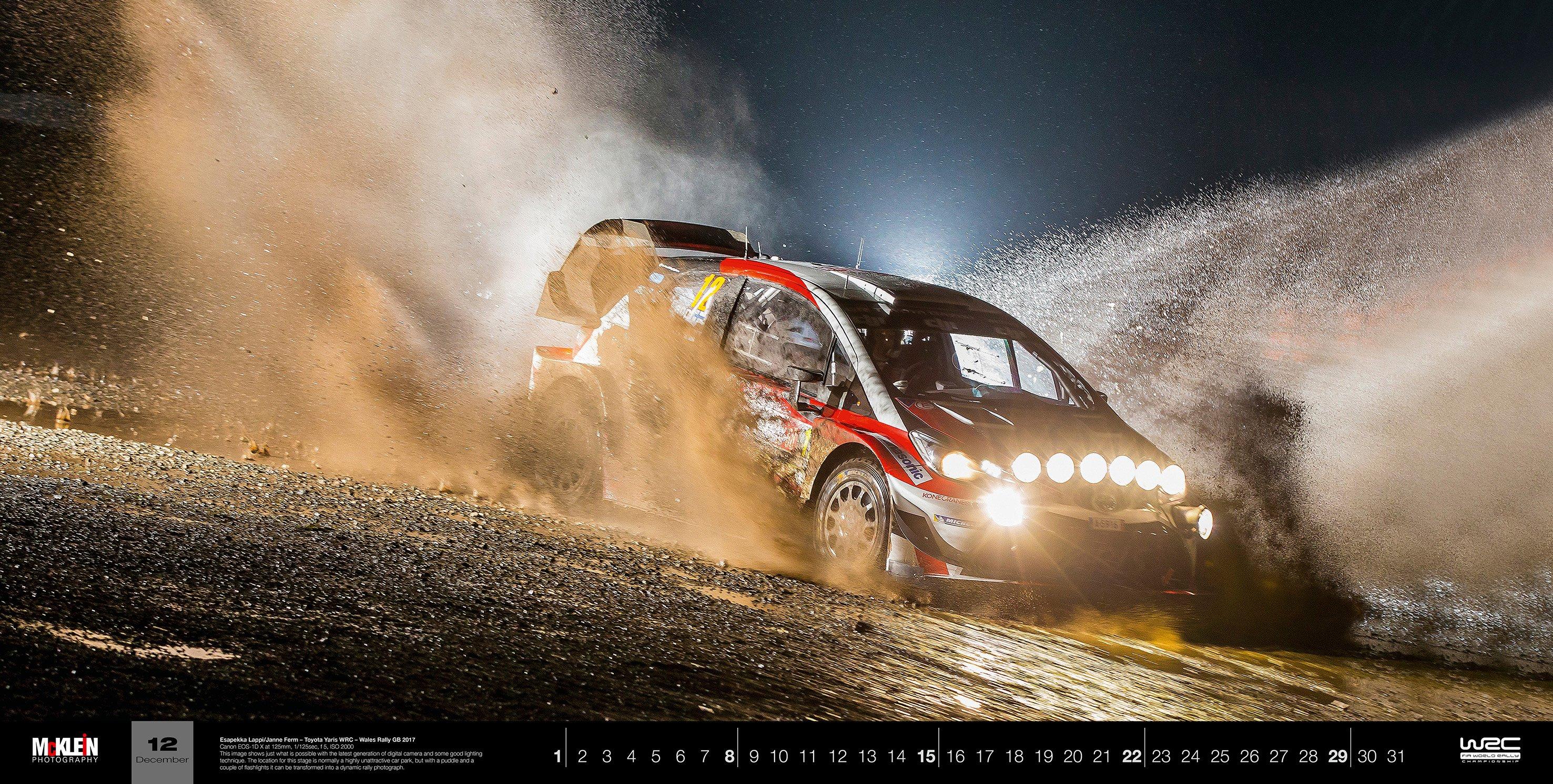 Mcklein Imagedatabase Rally X Calendar 2019
