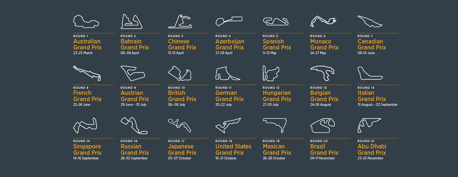 Mclaren Racing - 2018 F1 Toolkit Formula 1 Calendar 2019 Download