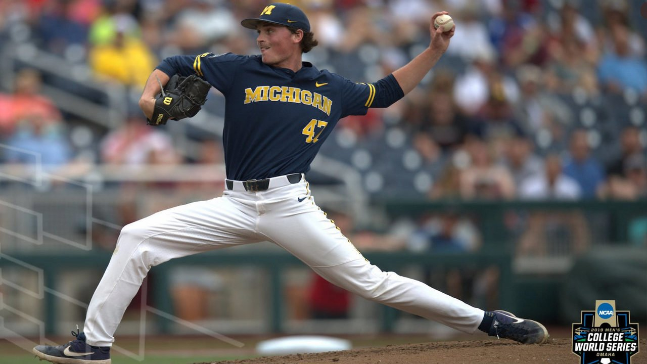 Michigan Baseball One Win Away From Championship Series After Calendar 2019 Umich