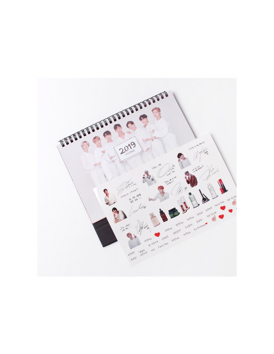 Monsta X Tonymoly Collaboration Goods - 2019 Calendar Monsta X Calendar 2019