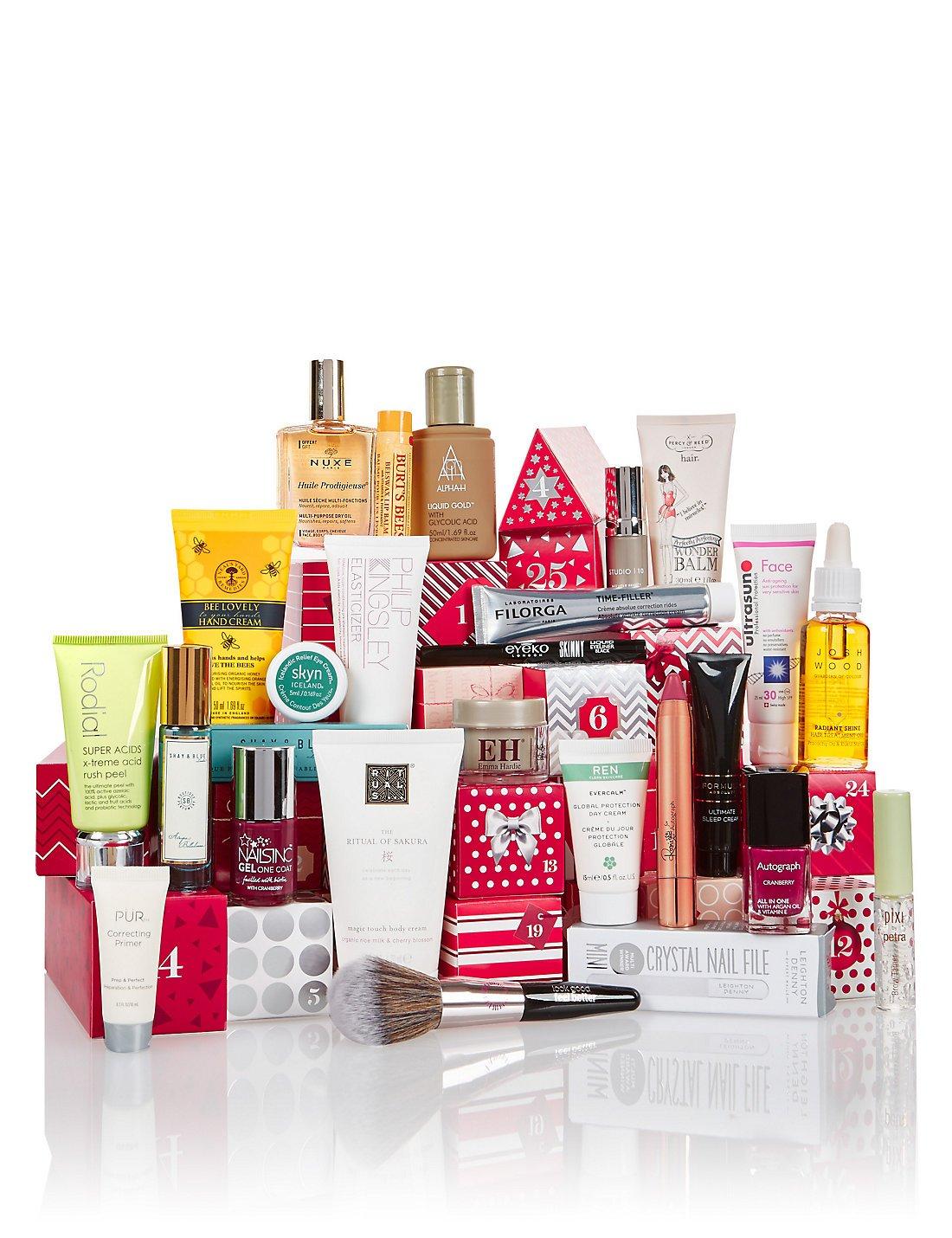 M&s Beauty Advent Calendar – £35 When You Spend £35+ | 2019 Diy How M&s Advent Calendar 2019